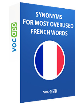 Synonyms for most overused French words