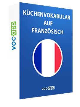 Küchenvokabular auf Französisch