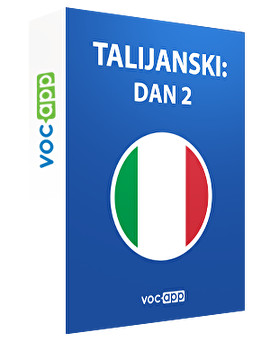 Talijanski: dan 2