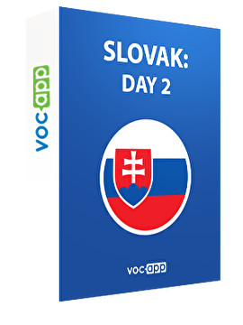 Slovak: day 2