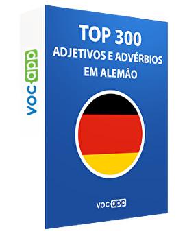 Top 300 adjetivos e advérbios em alemão
