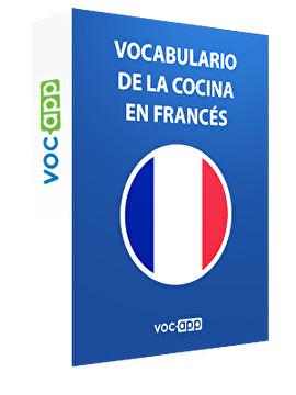 Vocabulario de la cocina en francés