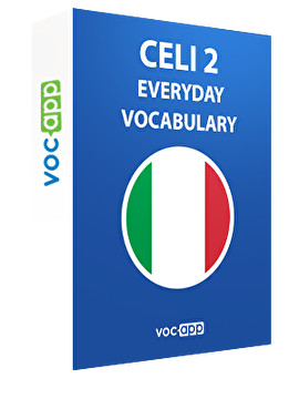 CELI 2 - Everyday vocabulary
