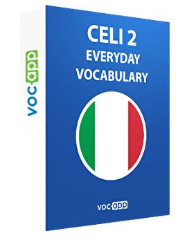 CELI 2 - Everyday vocabulary