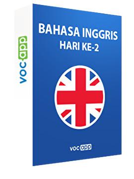 Bahasa Inggris: hari ke-2