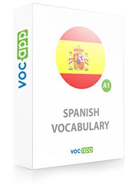 Spanish Vocabulary A1