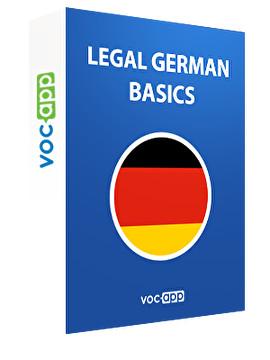 Legal German - Basics