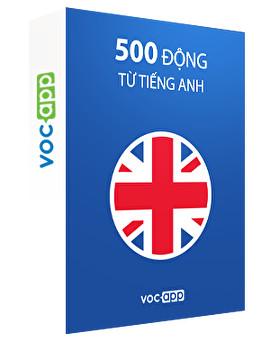 500 động từ tiếng Anh