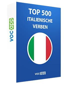 Top 500 italienische Verben
