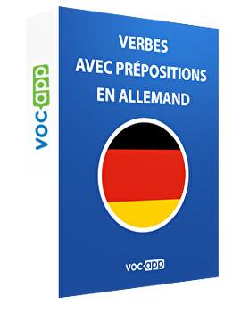 Verbes avec prépositions en allemand