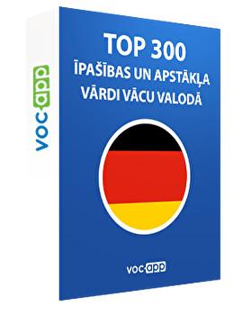 Top 300 īpašības un apstākļa vārdi vācu valodā