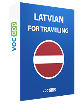 Latvian for travelling