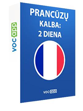 Prancūzų kalba: 2 diena