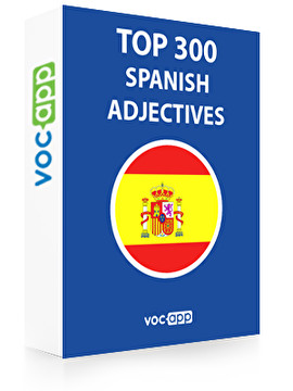 Spanish Words: Top 300 Adjectives