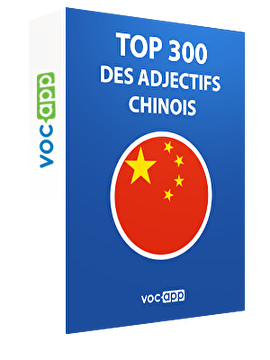 Top 300 des adjectifs chinois
