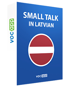 Small talk in Latvian
