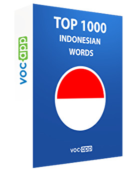 Top 1000 Indonesian Words