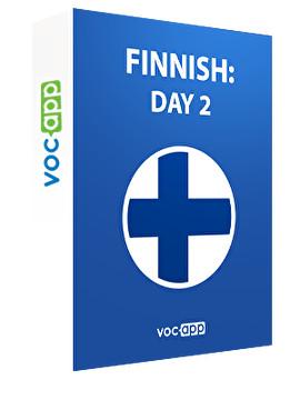 Finnish: day 2