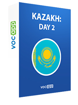 Kazakh: day 2