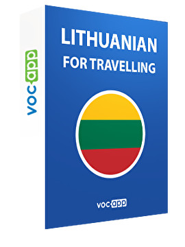 Lithuanian for travelling