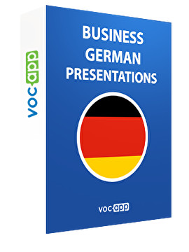 Business German - Presentations