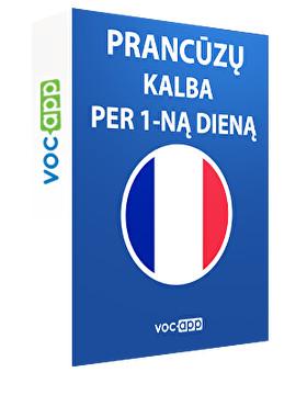 Prancūzų kalba per 1-ną dieną