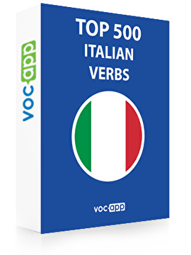 Italian Words: Top 500 Verbs