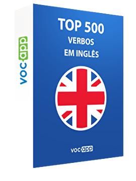 Top 500 verbos em inglês
