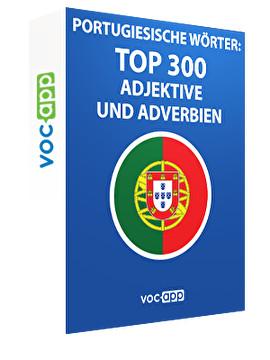 Portugiesische Wörter: Top 300 Adjektive und Adverbien