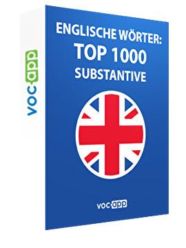 Englische Wörter: Top 1000 Substantive