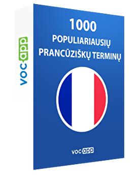 1000 populiariausių prancūziškų terminų