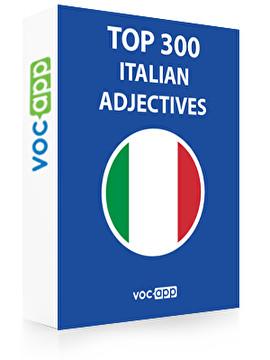 Italian Words: Top 300 Adjectives