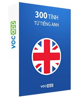 300 tính từ tiếng Anh