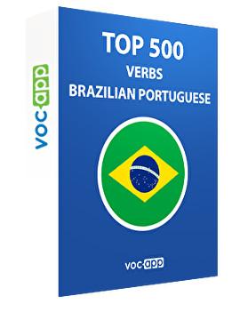 Brazilian Portuguese Words: Top 500 Verbs