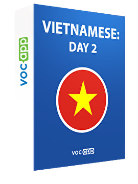Vietnamese: day 2