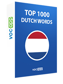 Top 1000 Dutch Words