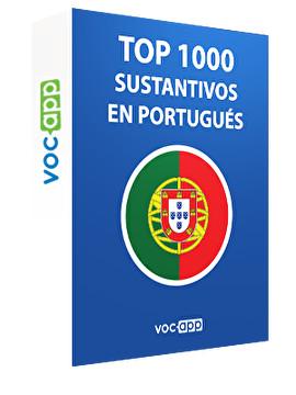 Top 1000 sustantivos en portugués