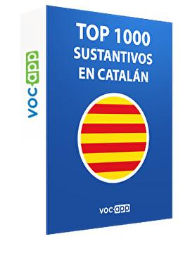 Top 1000 sustantivos en catalán