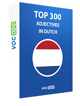 Top 300 adjectives in Dutch