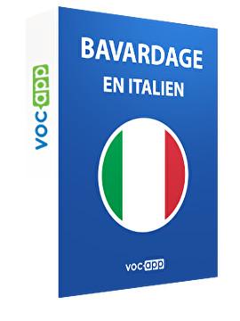 Bavardage en italien