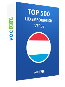 Top 500 Luxembourgish verbs