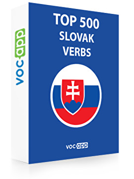 Slovak Words: Top 500 Verbs