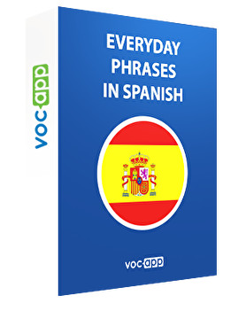 Everyday phrases in Spanish