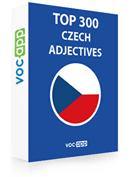 Czech Words: Top 300 Adjectives
