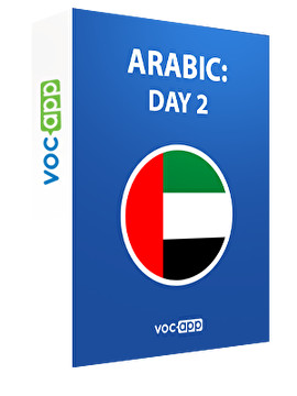 Arabic: day 2