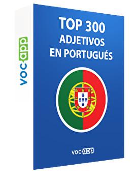 Top 300 adjetivos en portugués