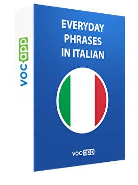 Everyday phrases in Italian