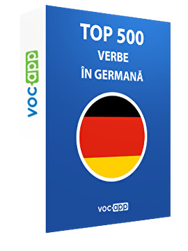 Top 500 verbe în germană