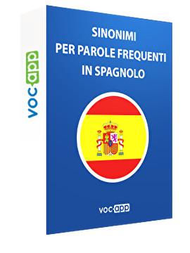 Sinonimi per le parole più usate in spagnolo