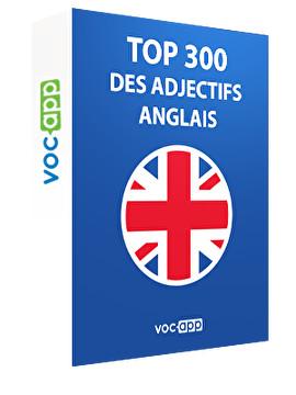 Top 300 des adjectifs anglais